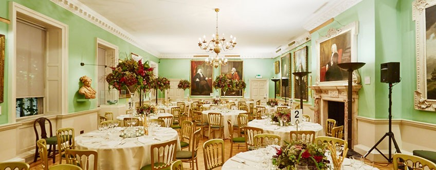 The Foundling Museum is one of London's most elegant wedding venues.