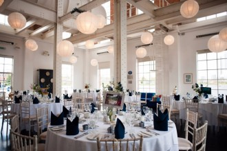 The West Reservoir Centre is one of London's most unusual wedding venues.