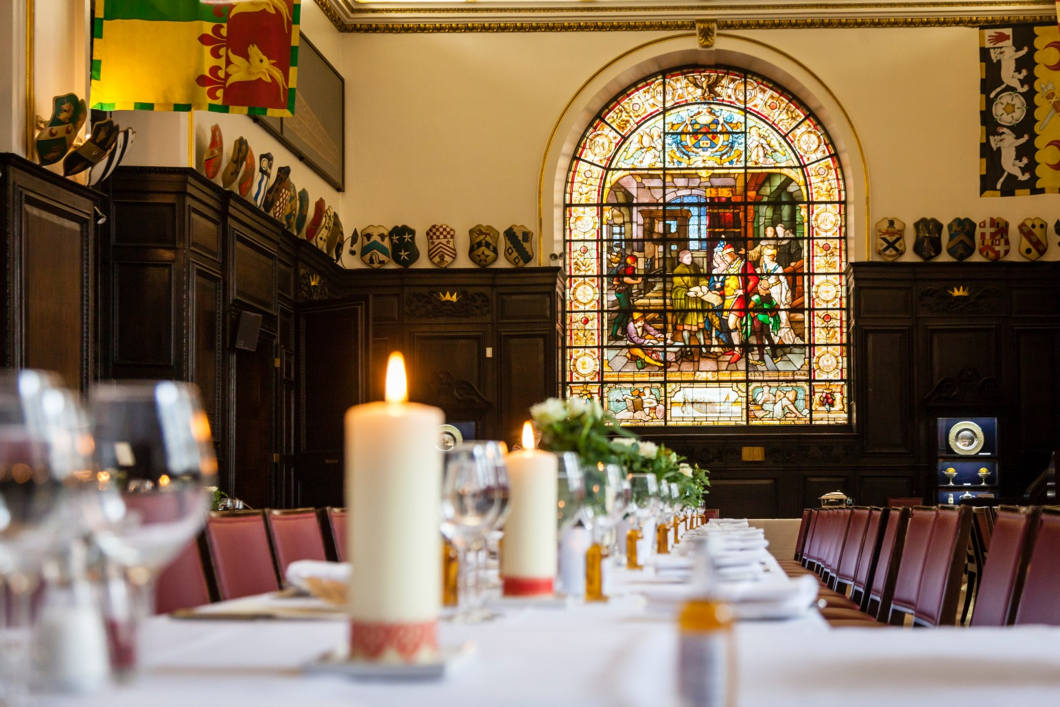 This grand Grade I listed building would make an impressive setting for a traditional Christmas lunch or dinner.