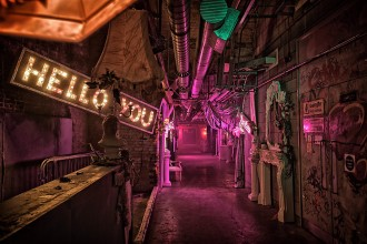 Whether you're planning a devilish drinks reception or a murder mystery night, the maze of underground tunnels at the Vaults promises to start the fun and frights before the trick-or-treating even begins.