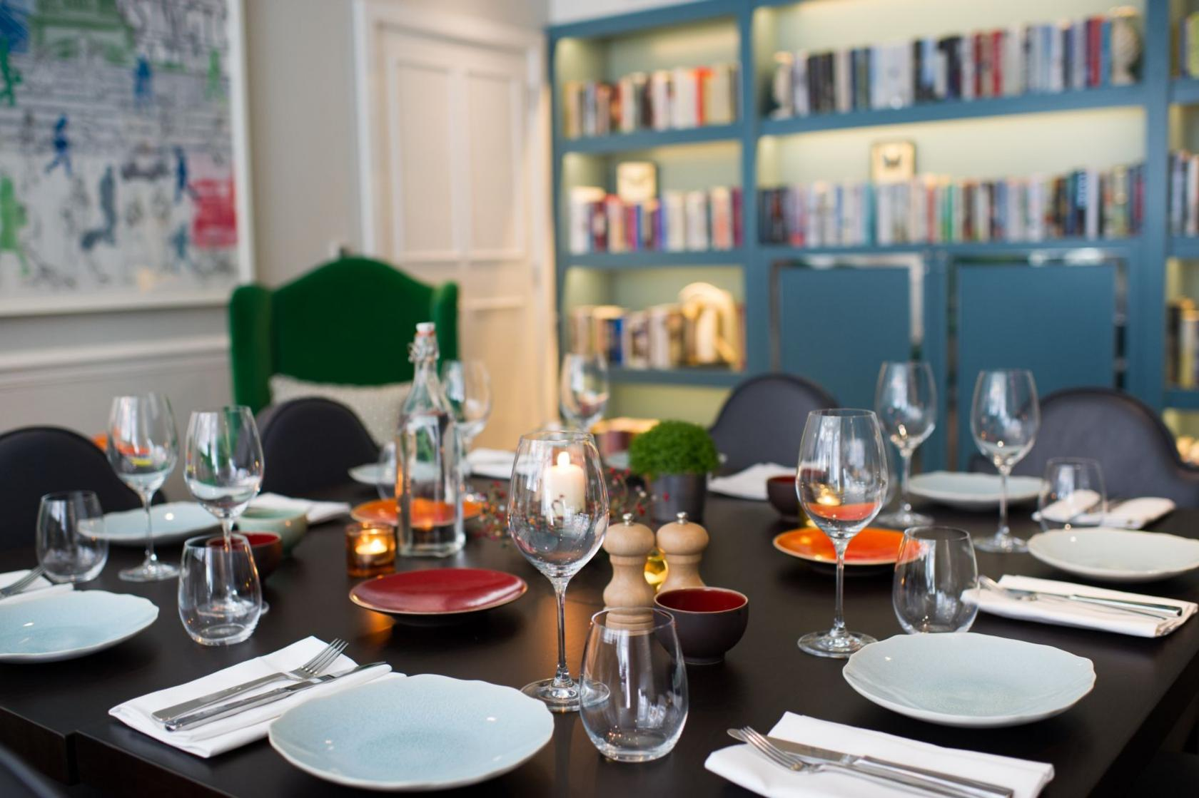 The Library Room's quirky styling and specially-curated collection of books will provide a unique backdrop for your special day.