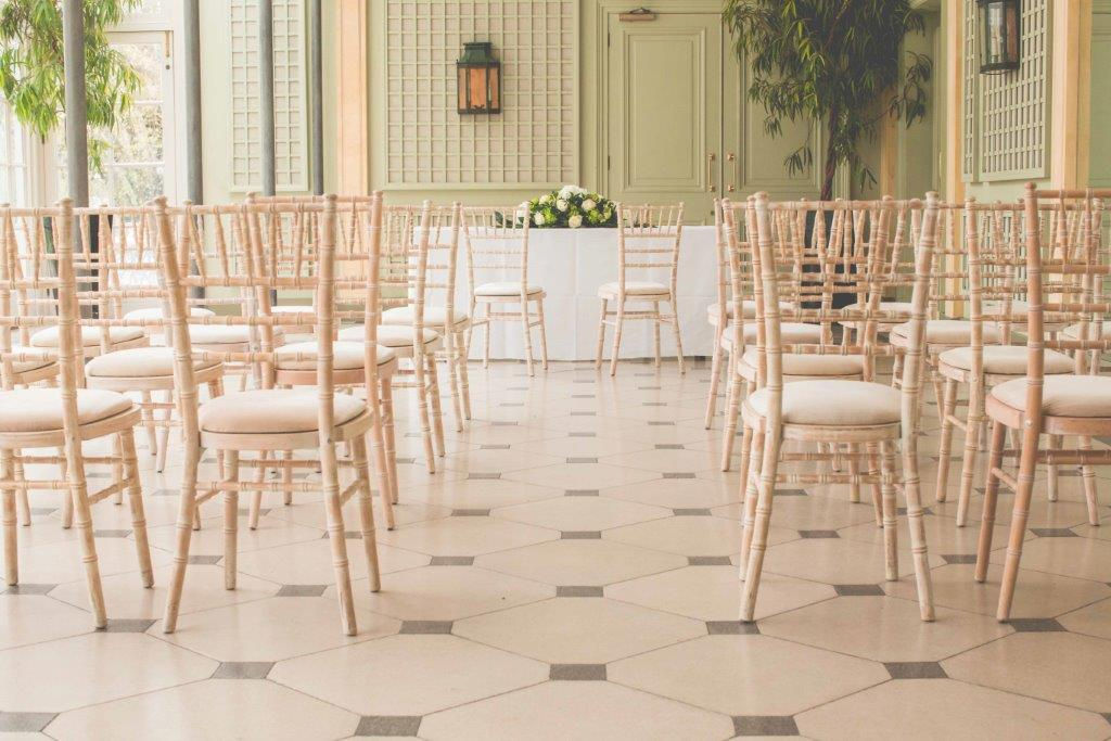 The Terrace Room at the Hurlingham Club would make a sumptuous setting for your special day.