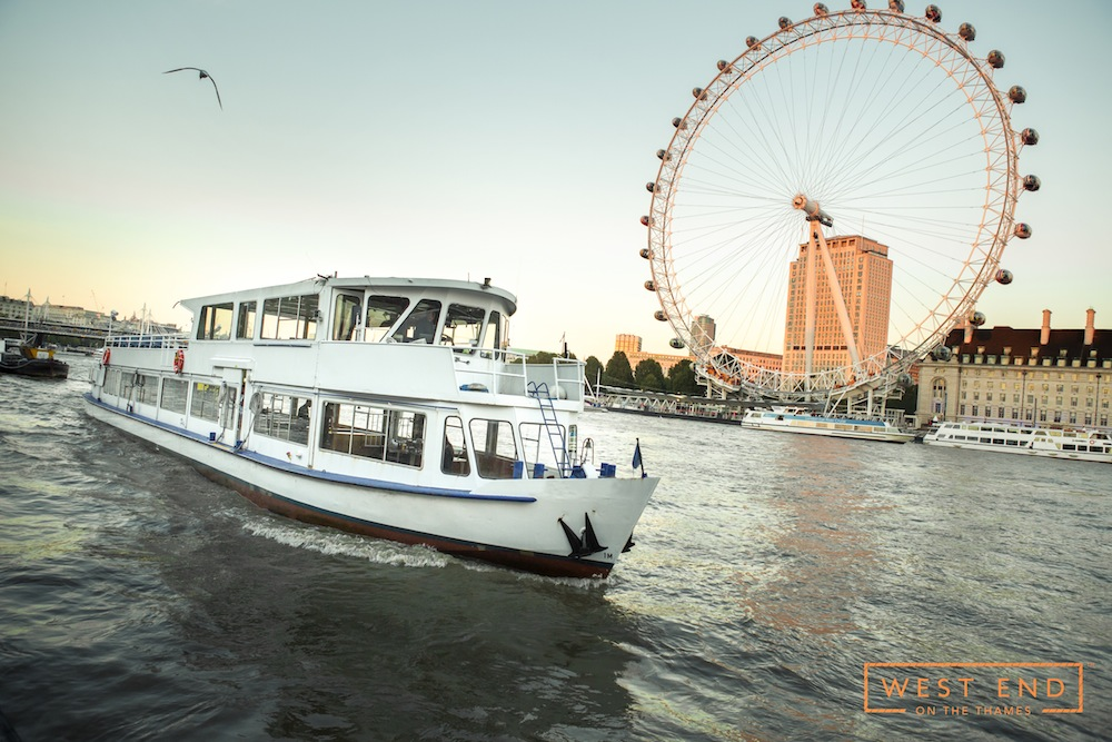 Take your leaving party to the next level with a West End on the Thames river cruise.