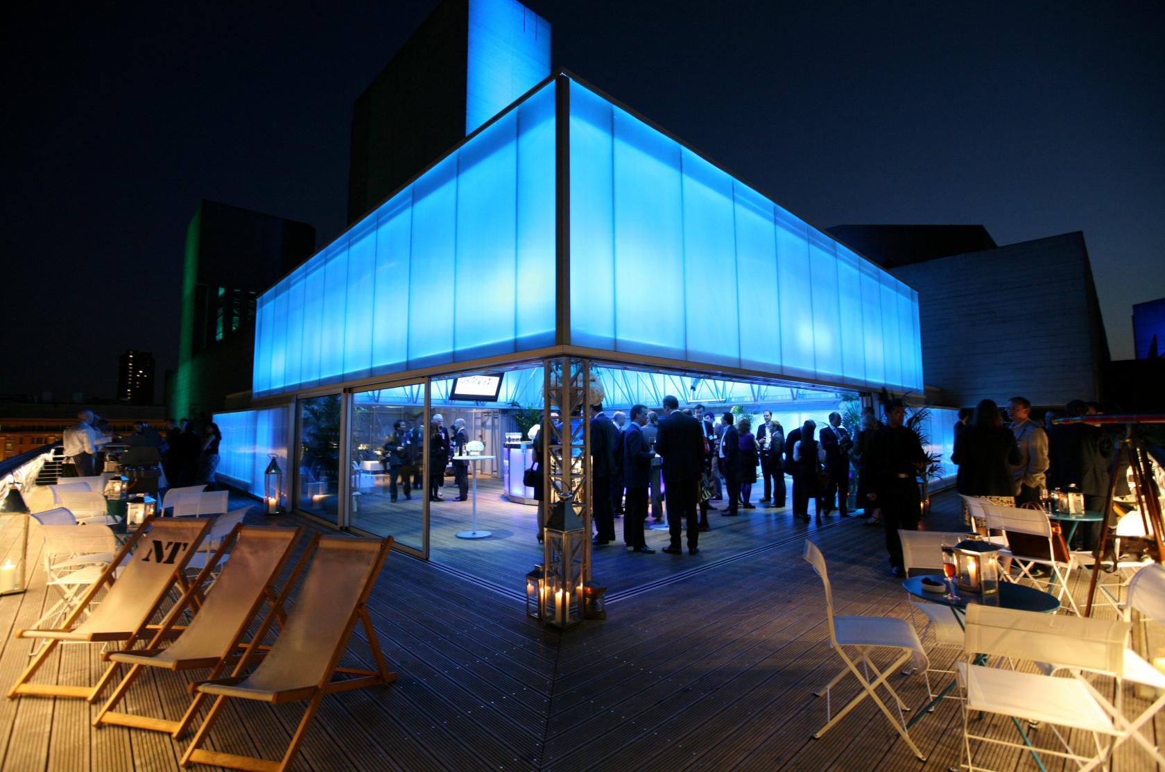 A favourite with city brides, the Deck is London's premier venue for rooftop weddings.