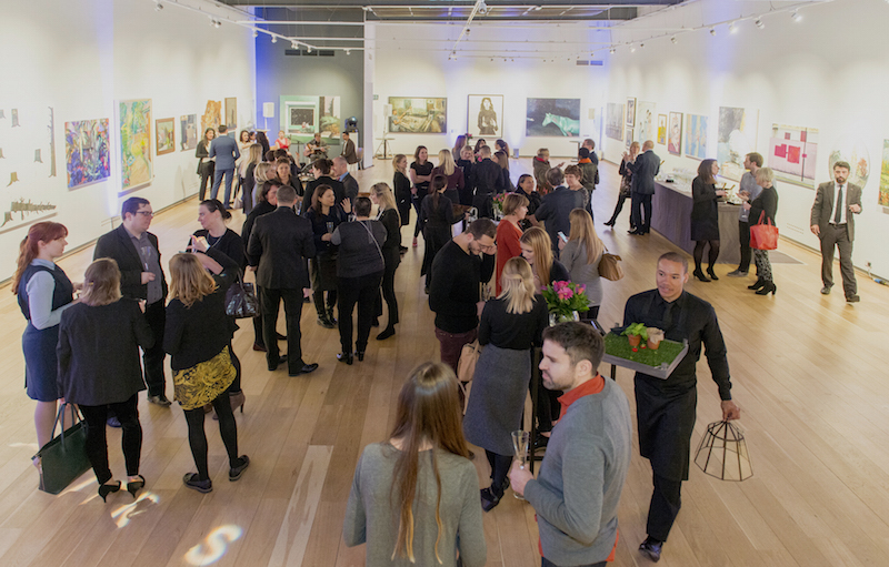 The state-of-the-art Main Gallery is ideal for large solo or group exhibitions, as well as drinks receptions and private dining events.