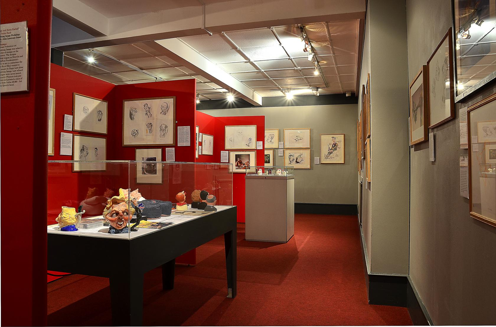 The Cartoon Museum's enormous collection includes 3,000 books and 12,000 pictures, covering three hundred years