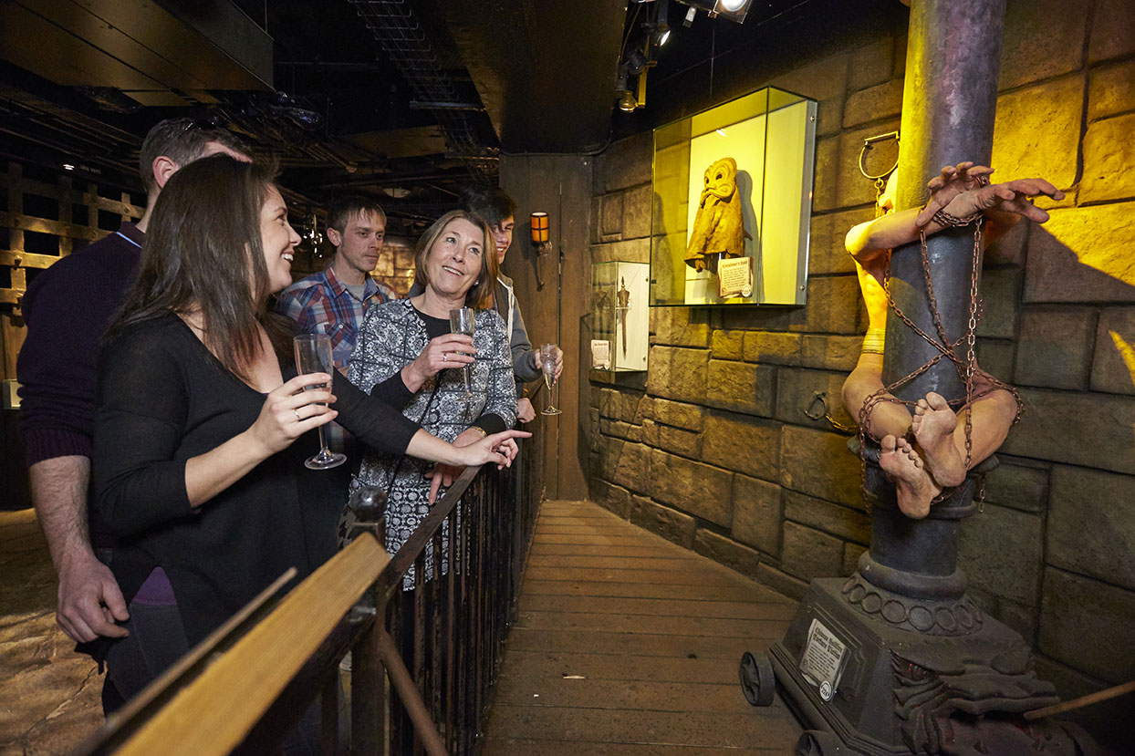 n the heart of London's West End, Ripley's is a one-of-a-kind space for private events, with wacky wonders that make perfect cocktail conversation pieces.