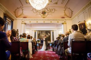 It's no surprise then that this historic venue in the heart of the city is a favourite among top wedding bloggers.
