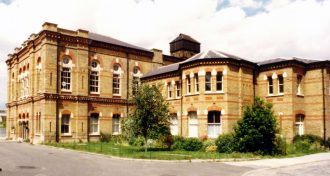 One of Britain's most eccentric museums, the Cinema Museum is set in an archaic Victorian warehouse within a Lambeth NHS complex.