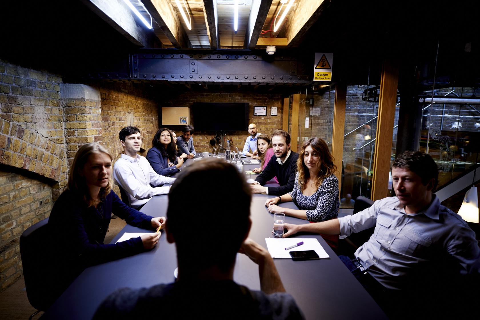 Fully-equipped meeting rooms can accommodate between six and 30 people.