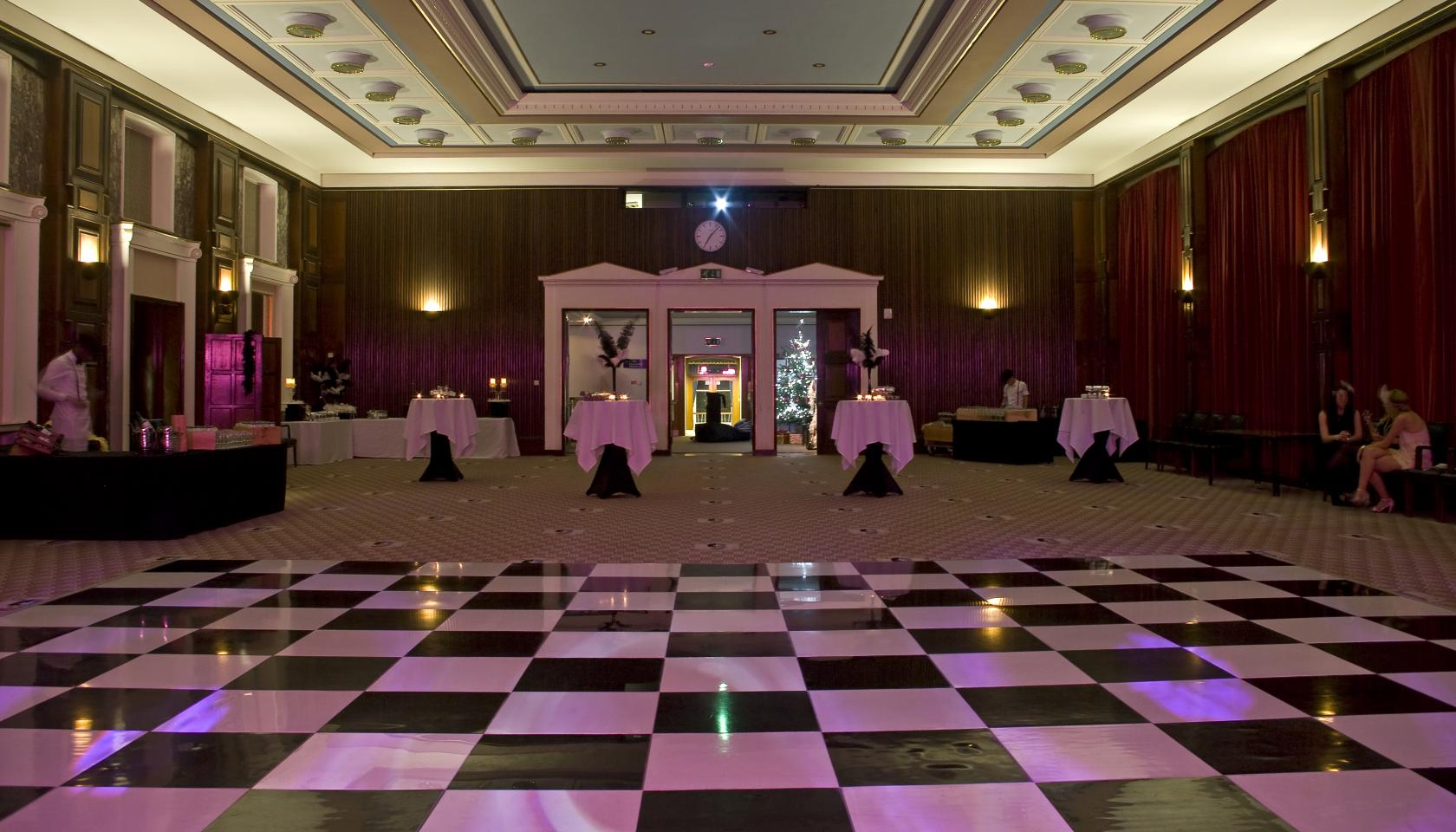 This Great Gatsby-themed venue will bring a touch of old world glamour to your north London Christmas do.