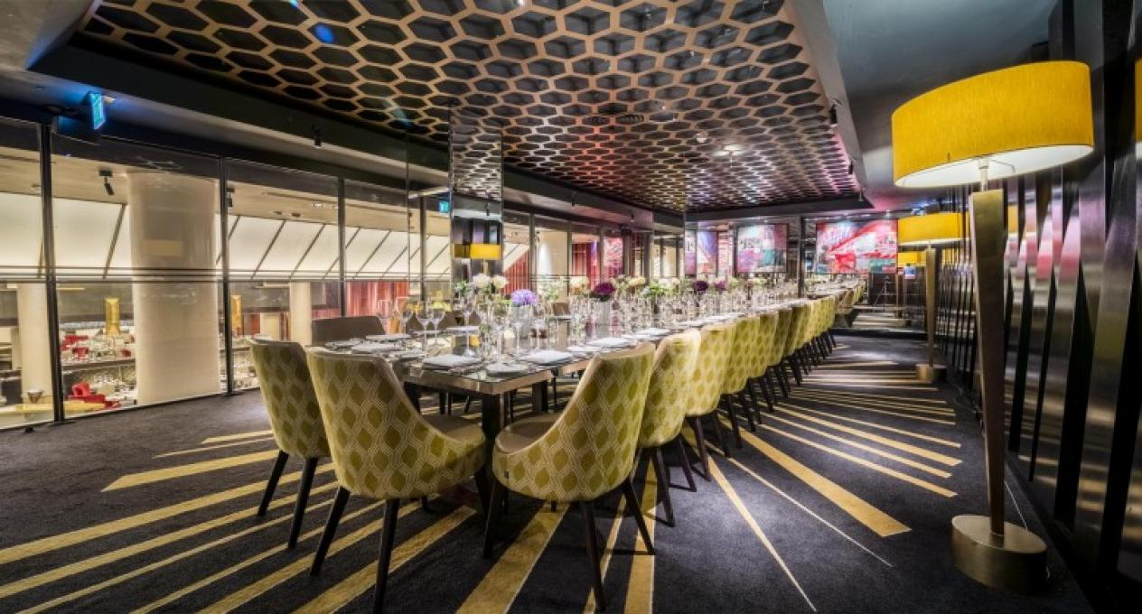 Best christmas party venues in central london 2016 for Best private dining rooms west end london