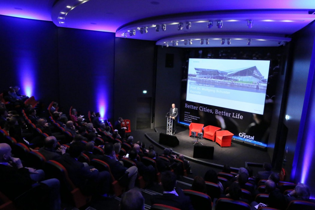 The Crystal's state-of-the-art auditorium and flexible meeting spaces are ideal for corporate conferences, product launches and other MICE events.