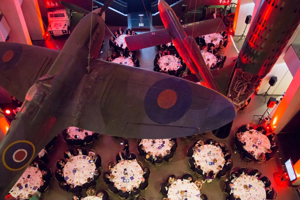 Like to entertain your guests among some of the IWM's most important exhibits, including iconic aircraft that have been dramatically suspended from the roof?