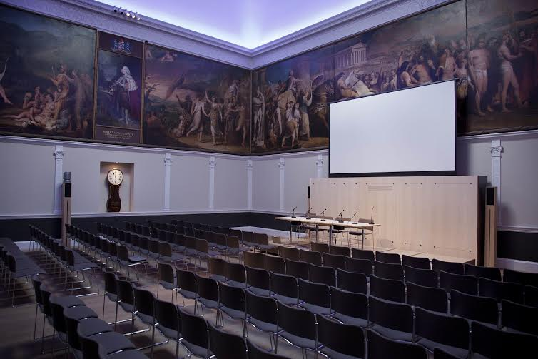 This conference venue at RSA House is ideal for large meetings, drinks receptions and awards dinners.