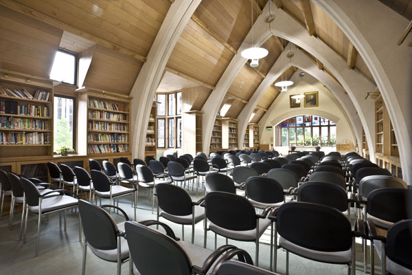 The Garry Weston Library at Southwark Cathedral is one of London's most unique conference venues.