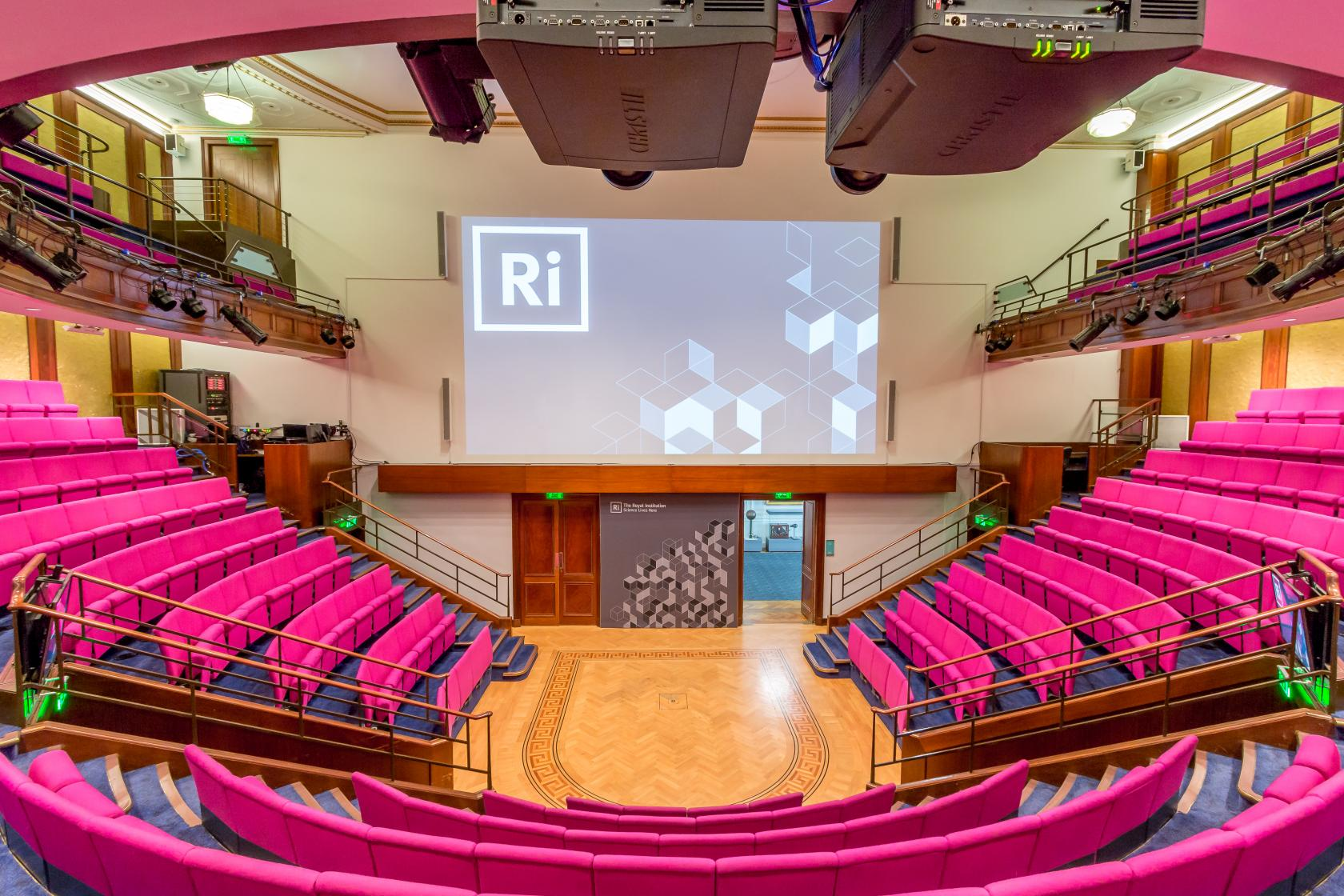 This impressive Mayfair venue has an in-house A/V team that can help set-up the tech for your conference or meeting.
