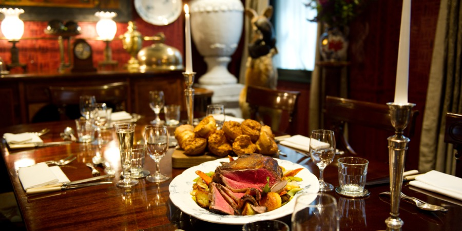7 affordable christmas party venues in london the last for Dining room zetter townhouse