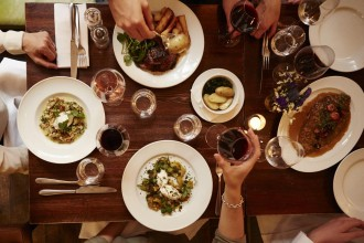 The 275-strong wine list at Vinoteca Farringdon is sure to get you into the festive spirit, as is the fantastic modern European menu.
