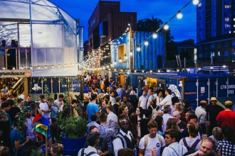 Pop Brixton is a brilliant venue in South London for hip summer parties
