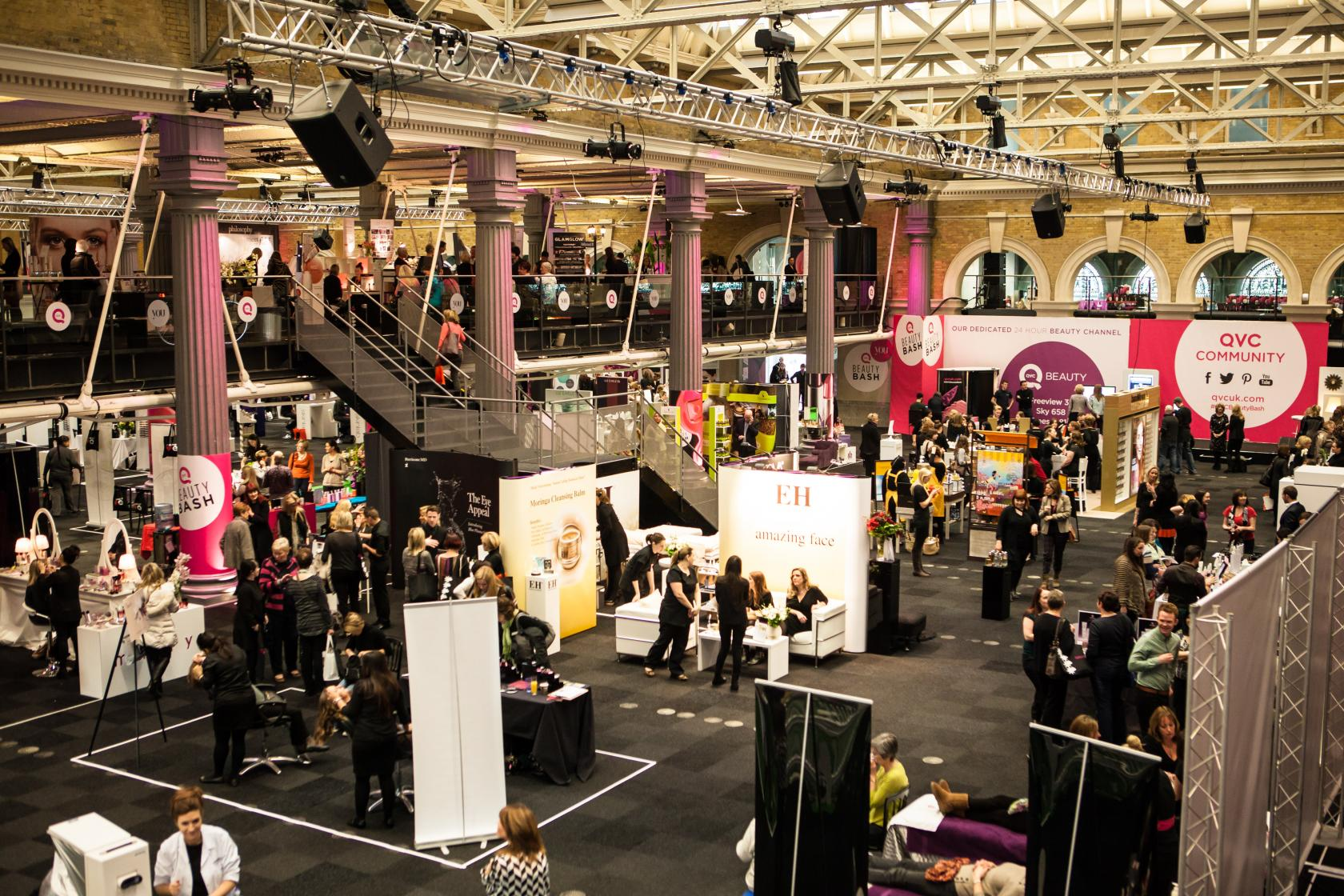 One of London's most flexible event spaces, Old Billingsgate is available on a dry hire basis for exhibitions, trade shows and other large events.
