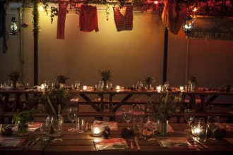 Located in Bethnal Green, the Pickle Factory can accommodate up to 80 guests for private dining events, like supper clubs.