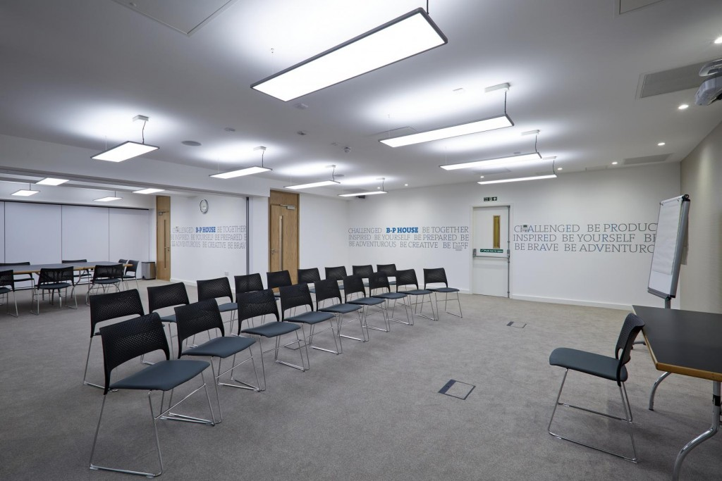 The Hawkhirst Suite at Baden-Powell House can be hired for conferences and meetings.