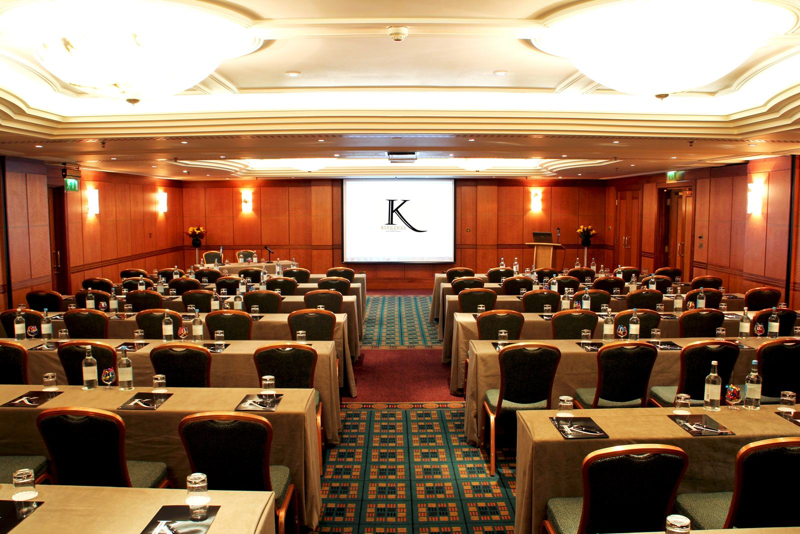 The Milton Room at Kingsway Hall is perfect for training courses and presentations.