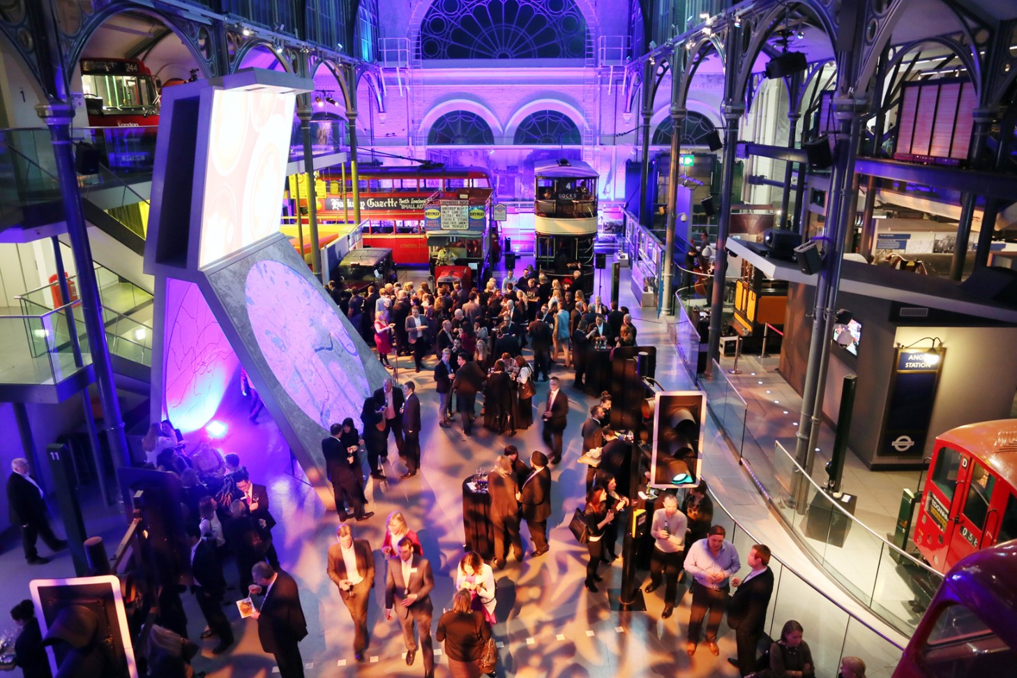 The London Transport Museum is a fantastic dry hire venue in Covent Garden.