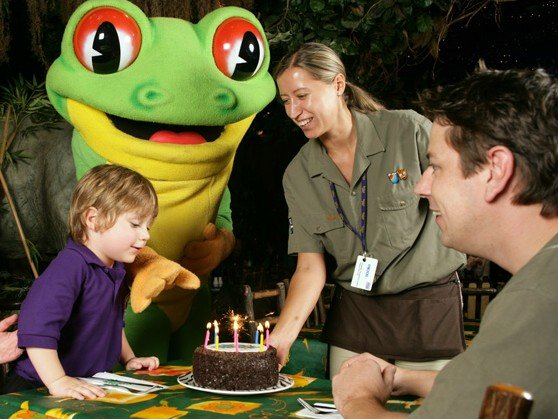 For a birthday meal your child will never forget, head to this jungle-themed restaurant, just two minutes from Piccadilly Circus.