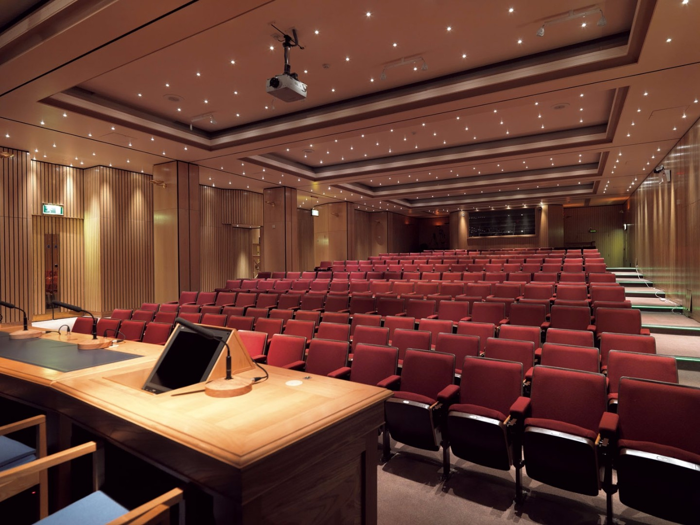 Lecture Room 1 at the Royal College of Surgeons can be hired for conferences and lectures.