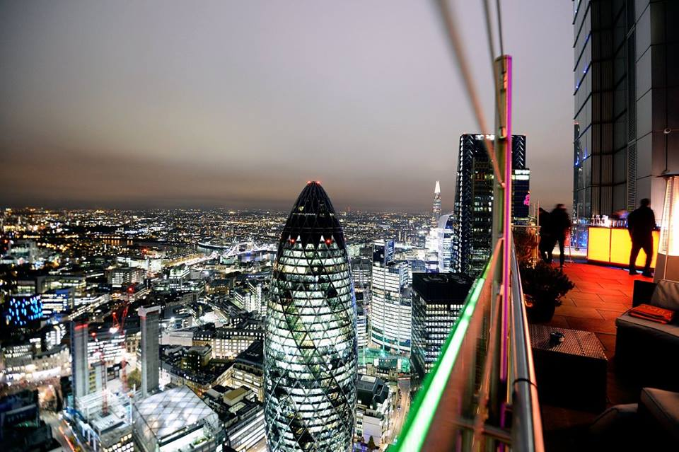 Sushisamba has the highest outdoor terraces in the UK, which offer unparalleled views of London from Tower Bridge, the Olympic park and across to Wembley.