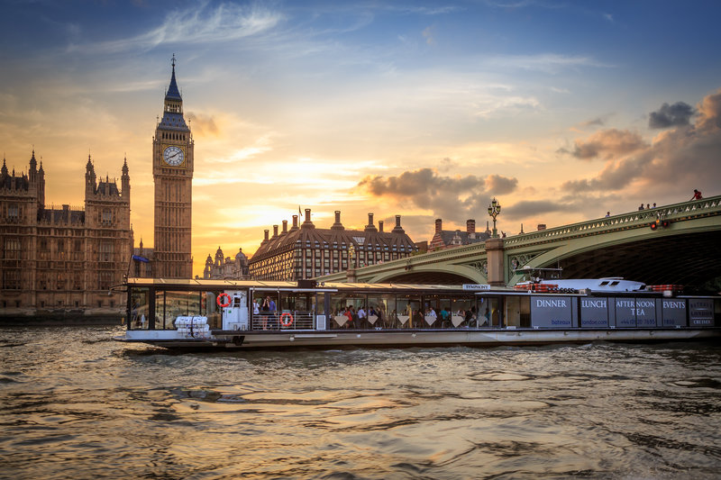 The Symphony is one of London's most popular boats for hire.