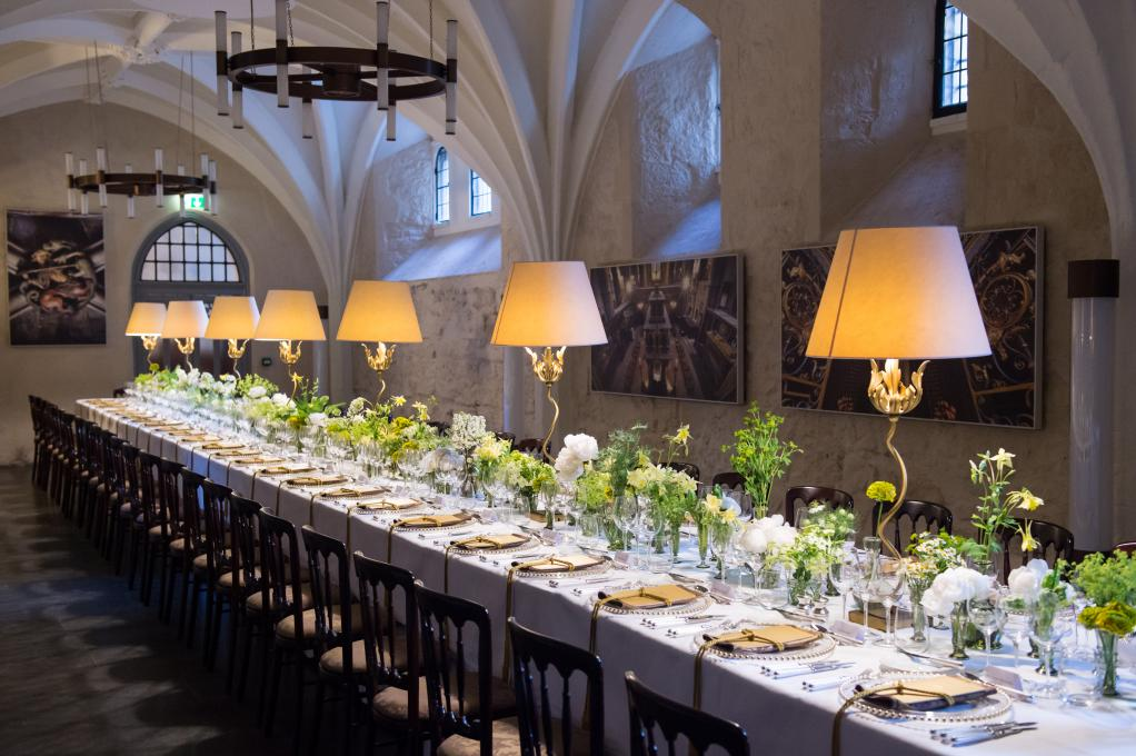 The Cellarium at Westminster Abbey can be hired for drinks receptions and private dinners.
