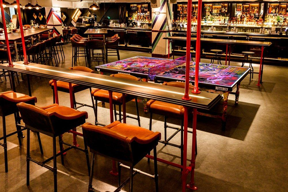 Head to Bounce Old Street to enjoy social ping pong at its best!