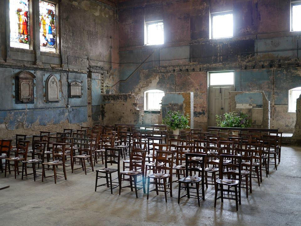 Distressed interiors and natural acoustics make this atmospheric chapel one of London's most popular alternative wedding venues.