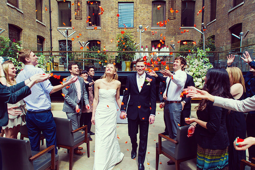 London's Cinnamon Kitchen has a range of affordable wedding packages to choose from.