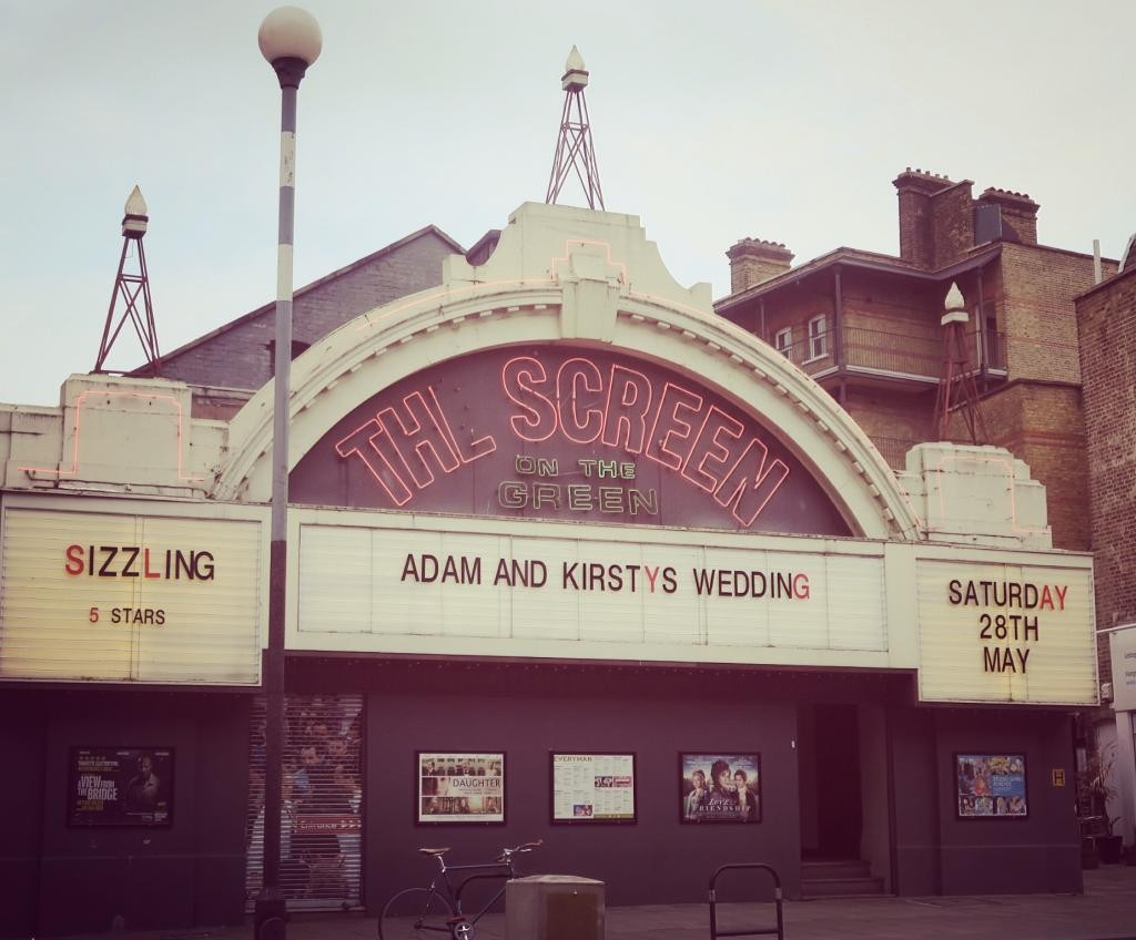 This old school movie theatre is one of London's most unique wedding venue ideas.