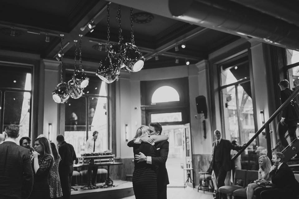 London wedding bloggers love St Bart's Brewery for its lively atmosphere and large dance floor.