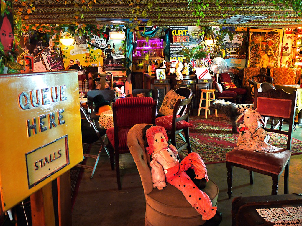 Little Nan's Rio Bar is the ultimate London kitsch bar with lots of photo opportunities.