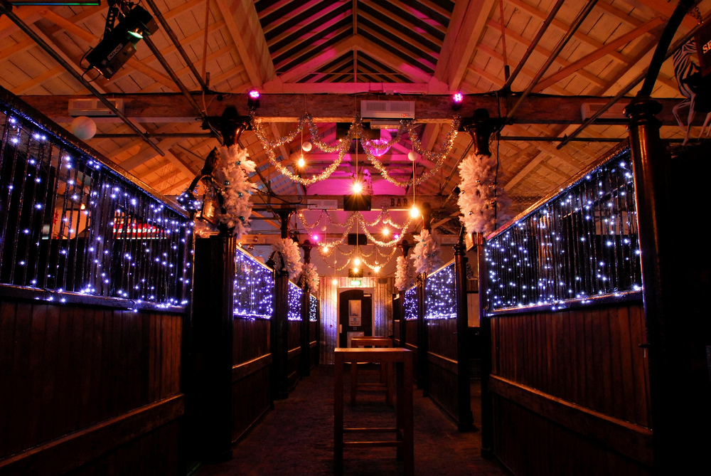 Stables at Proud Camden are the right choice for a really unusual Christmas Party