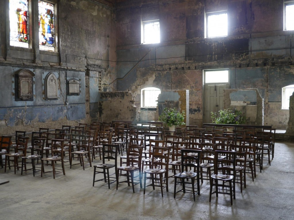 If you want a photoshoot venue that's far from ordinary, Asylum Chapel is one of our top picks.
