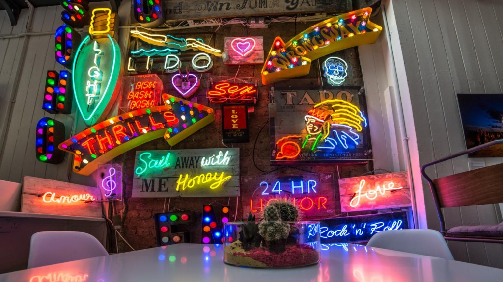 Lights of Soho is London's home of neon lights, perfect for creative photo shoots!