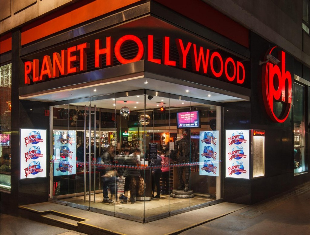 30th Birthday Party Ideas - London Venues - Planet Hollywood