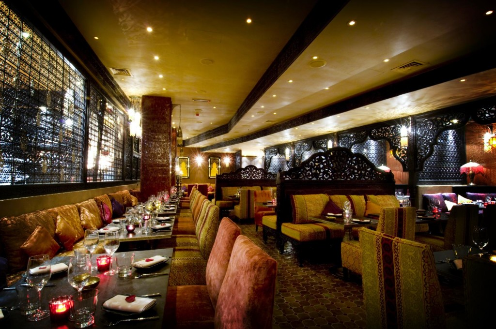 Kenza Restaurant is the perfect pick for a 30th birthday party with an Arabic theme.