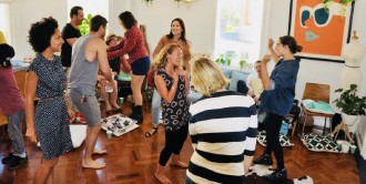 Corporate event ideas sydney - classes with glasses 1