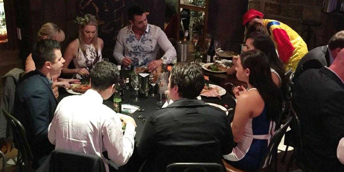 Corporate event ideas sydney - corporate dinner