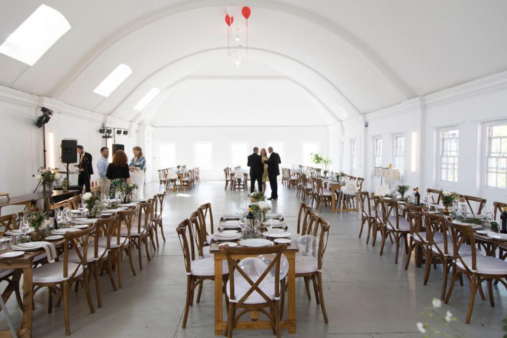Blank Space Dry Hire Wedding