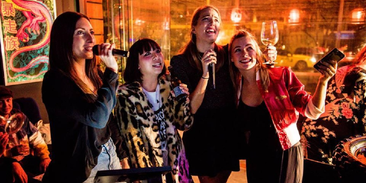 Sing your heart out with your team mates at Bosozoku Karaoke in Melbourne.