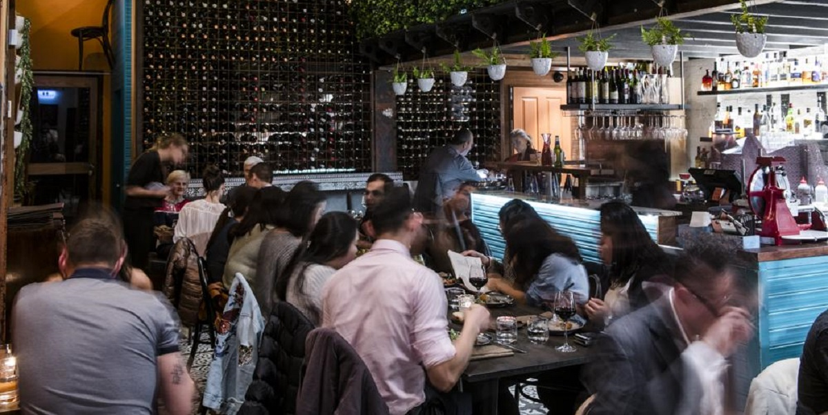 Portello Rosso is a Spanish restaurant perfect for team lunches.